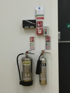 Fire Extinguisher Customer Ossett, North Yorkshire